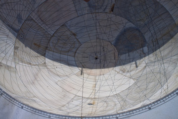 Astrological and astronomical instrument at Jantar Mantar