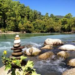 nehirde huzur