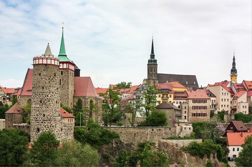 Old town of Bautzen,Saxony,Germany