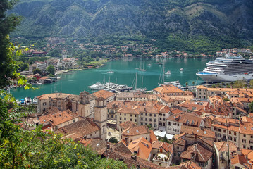 view of Kotor, Montenegro
