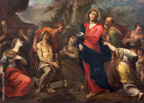 Treviso - The Resurrection of Lazarus in saint Nicholas church