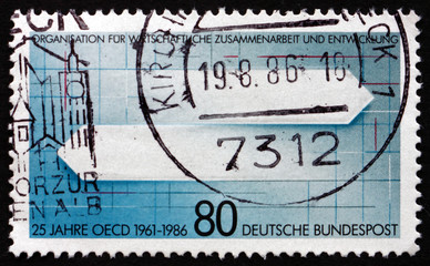 Postage stamp Germany 1986 Directions