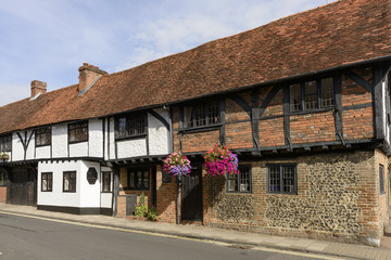 medieval wattle house in Friday street, Henley on Thames