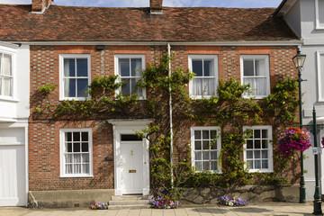 vine covered old brick house, Henley on Thames