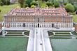 Leinwandbild Motiv Caserta's Royal Palace, Italy in Miniature Park, Rimini