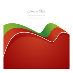 Portugal abstract flag ribbon vector