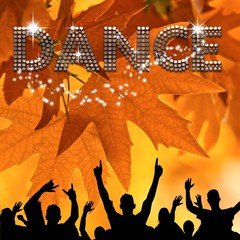 Dance poster autumn leafs