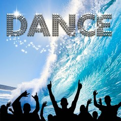 Dance poster wave surfing