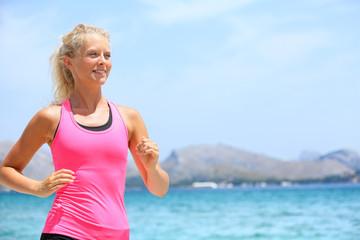 Running woman runner