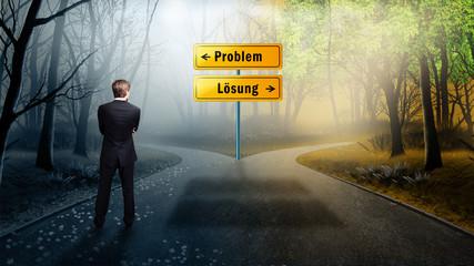 Pfad zu Problem und Lösung