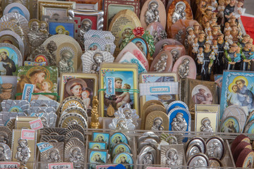 The religion Souvenirs from Basilica of st. Antony