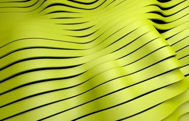yellow plastic stripes background