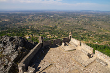 Viewpoint from Marvao castle towers