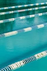 swimming line