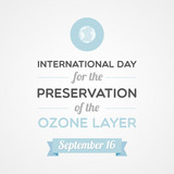 International Day for the Preservation of the Ozone Layer poster
