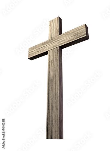 Wooden Crucifix - 70402818