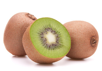 Sliced kiwi fruit half