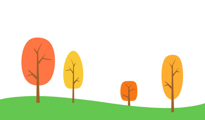 Fall Landscape Background