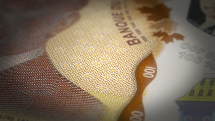 Canadian Dollar Close-up