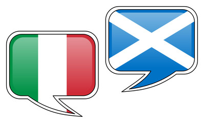 Italian-Scottish Conversation