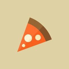 Pizza. Food Flat Icon