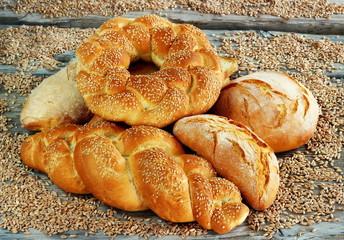 Composizione di pane