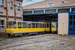 canvas print picture - Berlin Tram