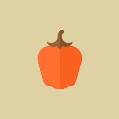 Pepper. Food Flat Icon