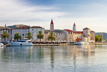Towers of Trogir in Dalmatia