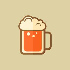 Beer. Food Flat Icon