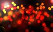 canvas print picture - lumières abstraites de la nuit