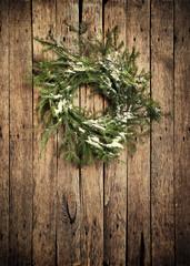 Christmas Natural Fir Tree Wreath