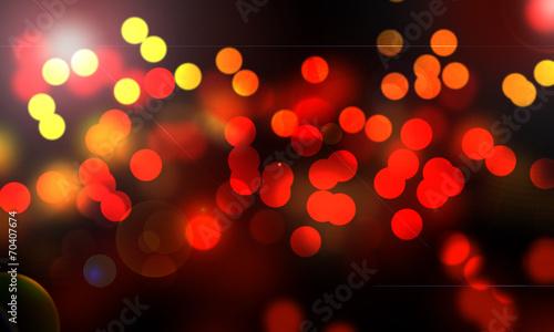canvas print picture lumières abstraites de la nuit