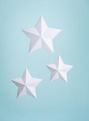 White Paper Stars