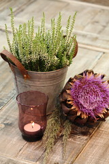 Herbstzauber bei Kerzenschein