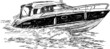speed boat - 70408422