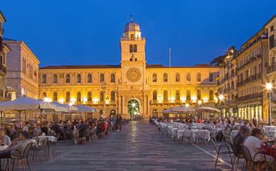 Padua - Piazza dei Signori square and Torre del Orologio