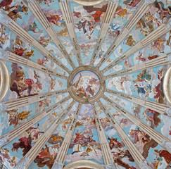 Padua - cupola in the church Chiesa di San Gaetano