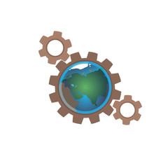 earth in gears