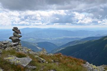 rock stack in low tatras