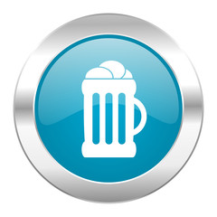 beer internet blue icon