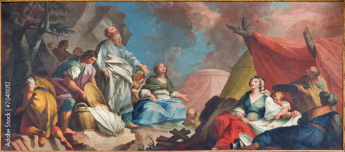 Padua - Moses and the Israelites Gathering of Manna - 70411017