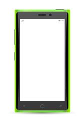 Mockup phone realistic vector
