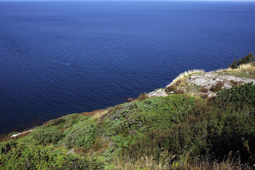 Kullaberg Sweden, with steep sea cliffs and biodiversity