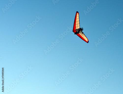 Leinwanddruck Bild motor hang-glider