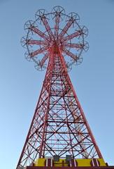 Famous landmark in Brooklyn, Coney Island, NYC, USA