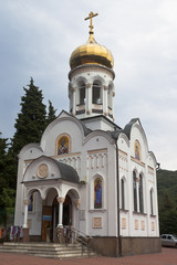 Церковь Николая Чудотворца в посёлке Лазаревское, Сочи, Россия