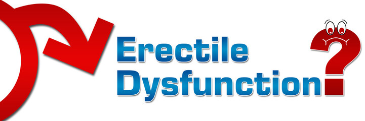 Erectile Dysfunction Question Mark Symbol Banner