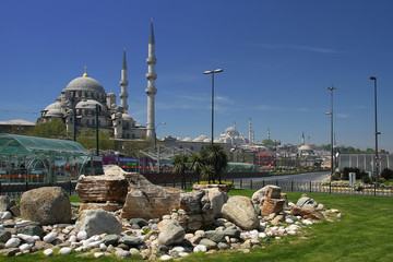 Istanbul and Sehzade Mosque