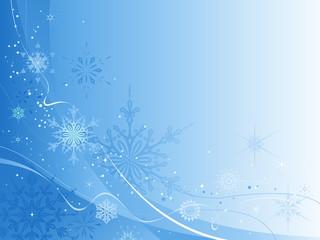 Blue Winter Design